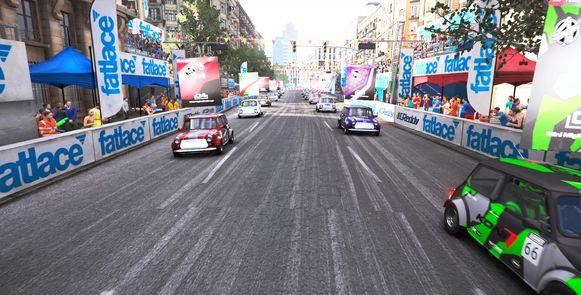 Schitterende circuits, zoals het stratencircuit in Barcelona. Zalig om hier te racen, met Mini's dan nog.