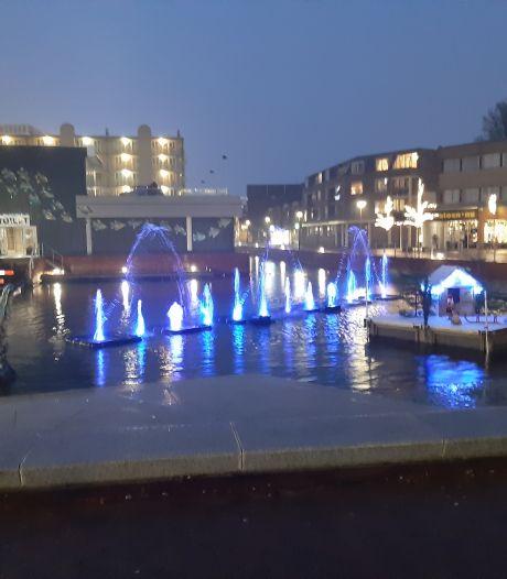 Waterfonteinen geven Almelose binnenstad komende weken kleur