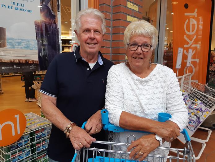 Hans en Henny van Aartrijk.