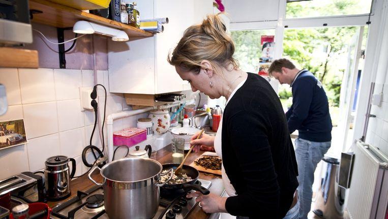 Kasia komt uit Polen, maar Pools koken doet ze zelden, dat is veel te veel werk Beeld Maarten Steenvoort