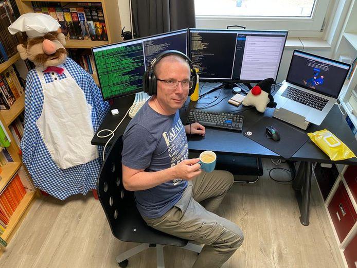 Martijn Dashorst is software ontwikkelaar en werkt al 16 jaar bij Topicus in Deventer.