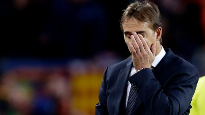 Officieel: Real Madrid ontslaat trainer Lopetegui en stelt Santiago Solari als voorlopige vervanger aan