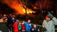 Zaterdag kerstboomverbranding in domein Oosthove