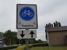 Hengelo eert verongelukte Yasmine met verkeersbord