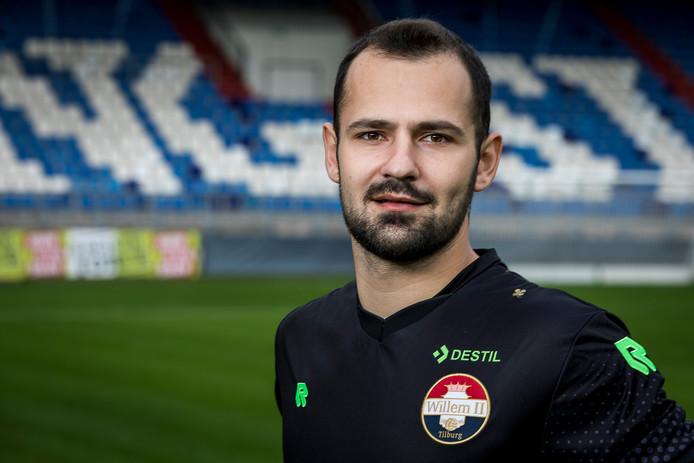 Willem II-doelman Georgios Strezos.