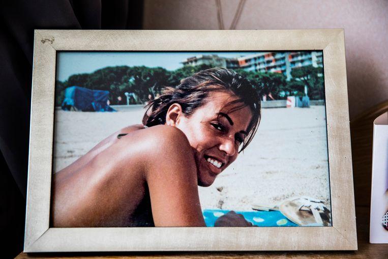 Een foto van Jessica van Room, genomen in 2004. Beeld Aurélie Geurts