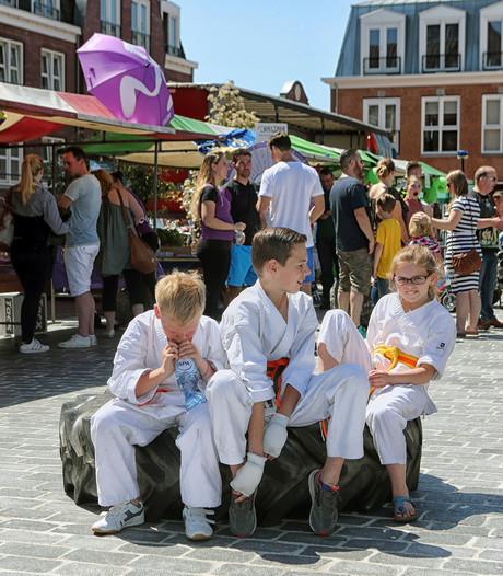 Lentefeesten in Hoogerheide veel meer dan alleen maar een braderie