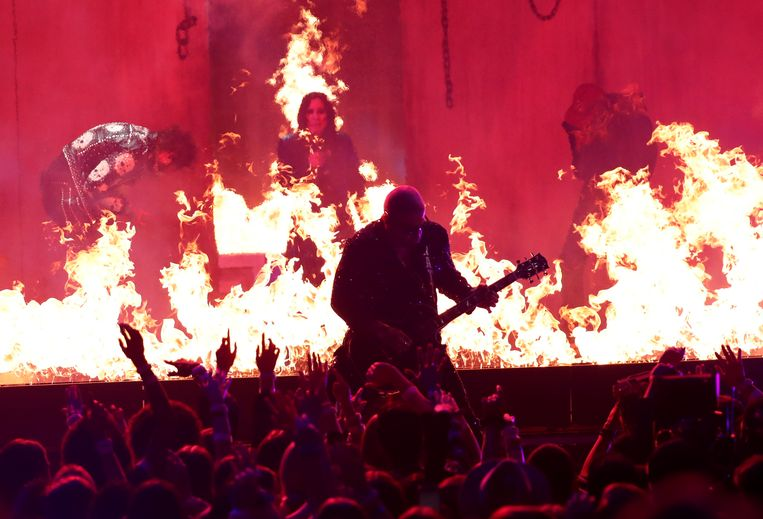 Ozzy Osbourne maakte zijn comeback.