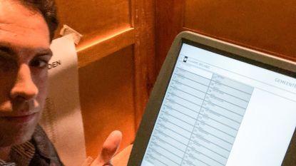 Tom Van Grieken tweet 'stemfie': is zijn stem dan nog geldig?