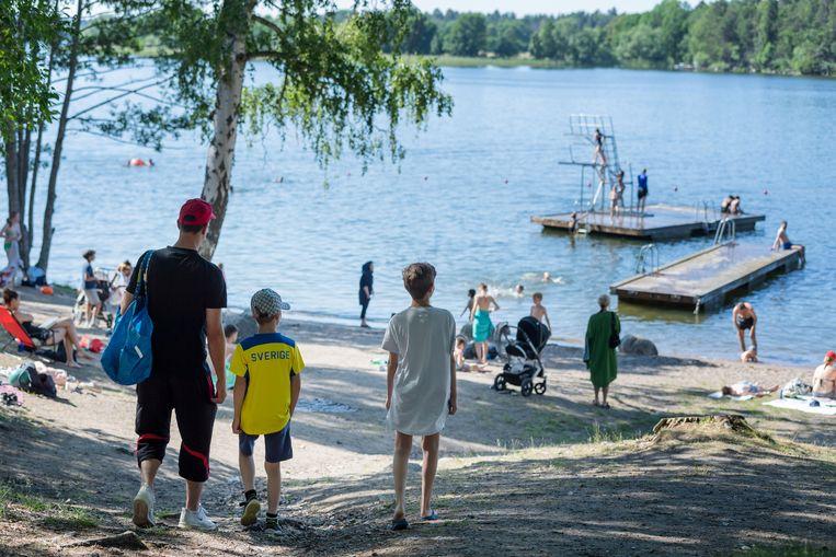 Het Malaren-meer in Stockholm