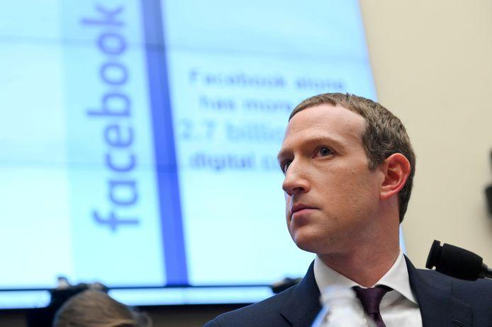Mark Zuckerberg, le fondateur et PDG de Facebook.