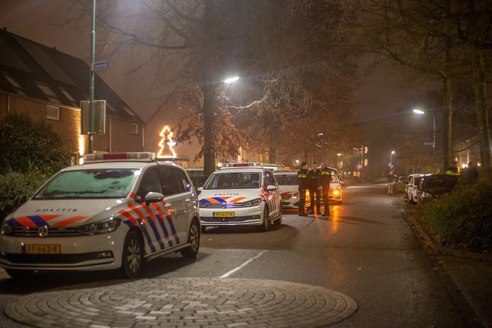 De politie loste gisteravond meerdere waarschuwingsschoten op de Glaskruid in Breukelen.