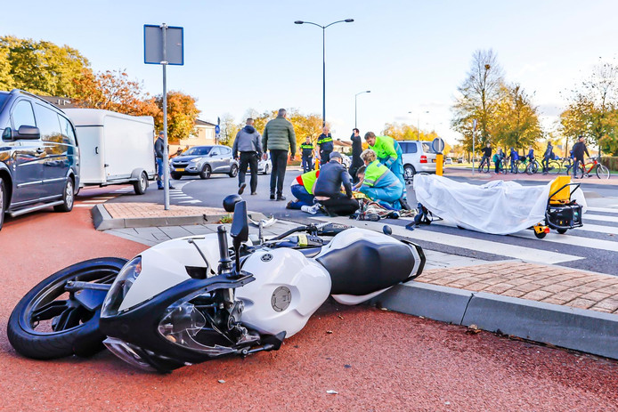 Twee personen ernstig gewond in Oosterhout.