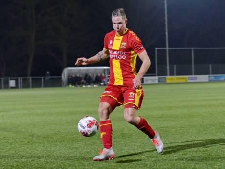 Blessure Pouwels tegenvaller, Van Iperen scoort voor  Jong GA Eagles