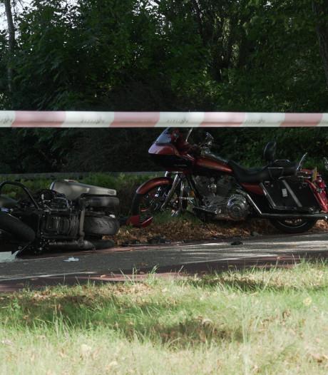 Vier motorrijders geschept door auto tijdens toertocht in Olst