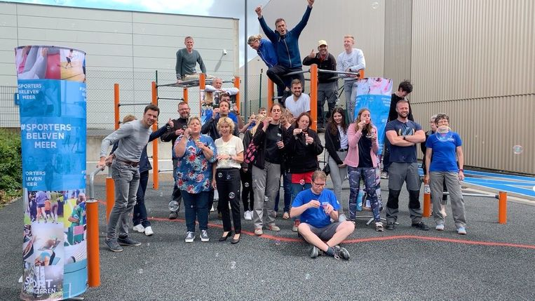 Sport Vlaanderen Brugge: personeel houdt ludieke actie