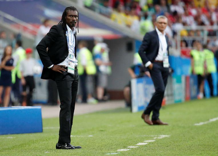 Aliou Cissé. Beeld Reuters