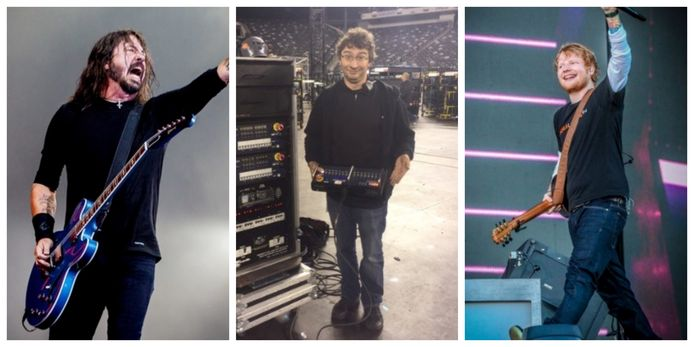 """Technicus Steven Lemahieu: """"Met Foo Fighters of Ed Sheeran ga ik vaak pintjes drinken na hun show."""""""