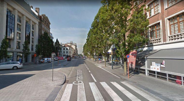 Er zijn ideeën voor een Kortrijkse Ramblas: een autoluwe boulevard van de Graanmarkt tot helemaal op het einde, aan het Casinoplein