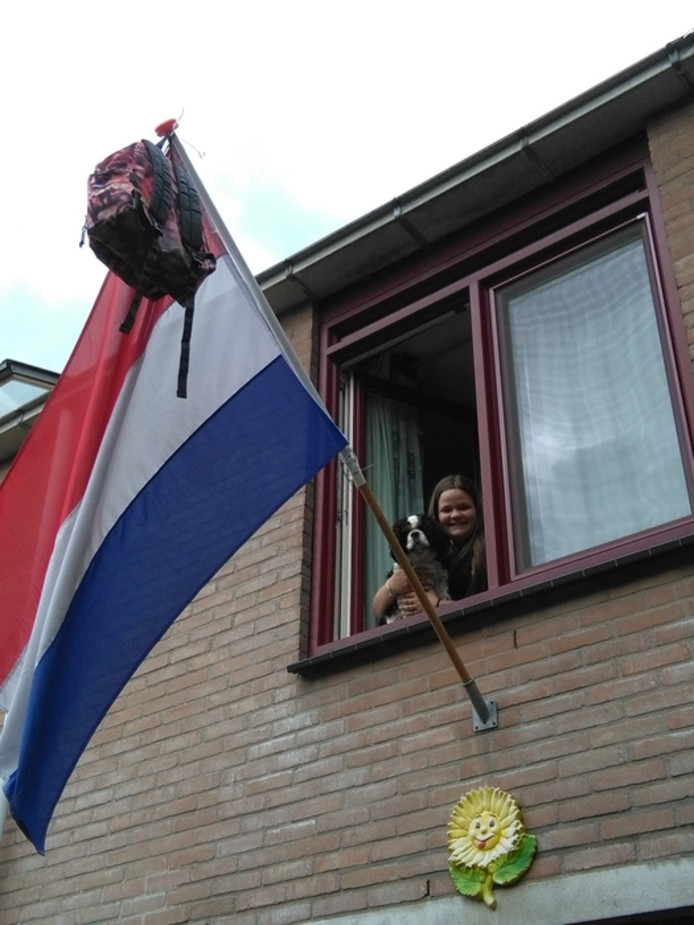 Cherise de Raaij (18) uit  Rotterdam.