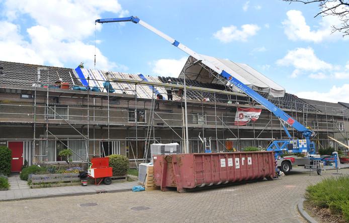 Aanbrengen van dakisolatie in Middelburg