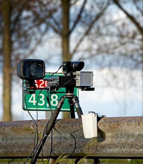 Politie bekeurt 172 hardrijders in Nijverdal