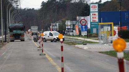 Herentalsesteenweg en Lierseweg week dicht voor nieuw wegdek