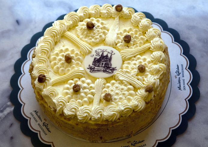 Zo ziet een taart van Maison Kelder eruit als hij gemaakt is door een professional.