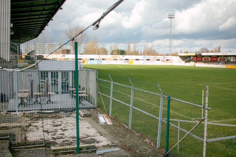 Het A-terrein van sportcentrum Puyenbeke, waarvoor de stad nu een nieuw toekomstplan kan beginnen uitwerken.