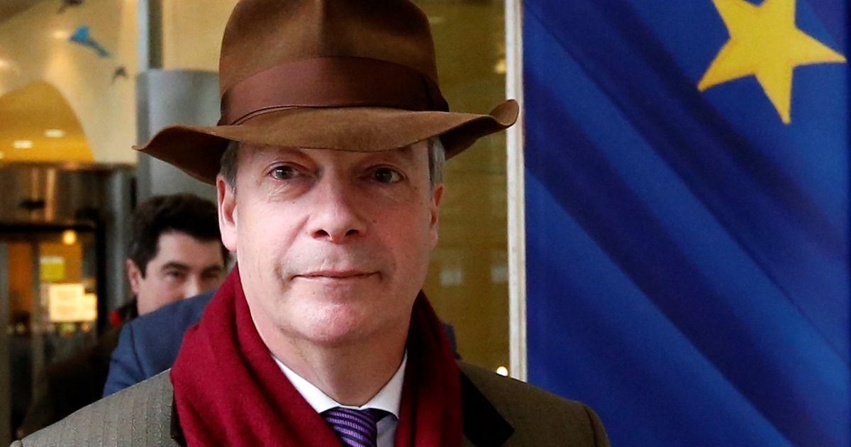 Europees Parlement halveert loon Nigel Farage