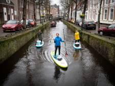 Plastic Soup Surfer maakt Amersfoortse grachten schoon