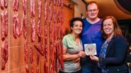 Officiële erkenning als 'ambachtsman' voor Slagerij Saerens