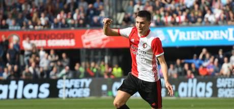 Berghuis terug op het veld bij Feyenoord