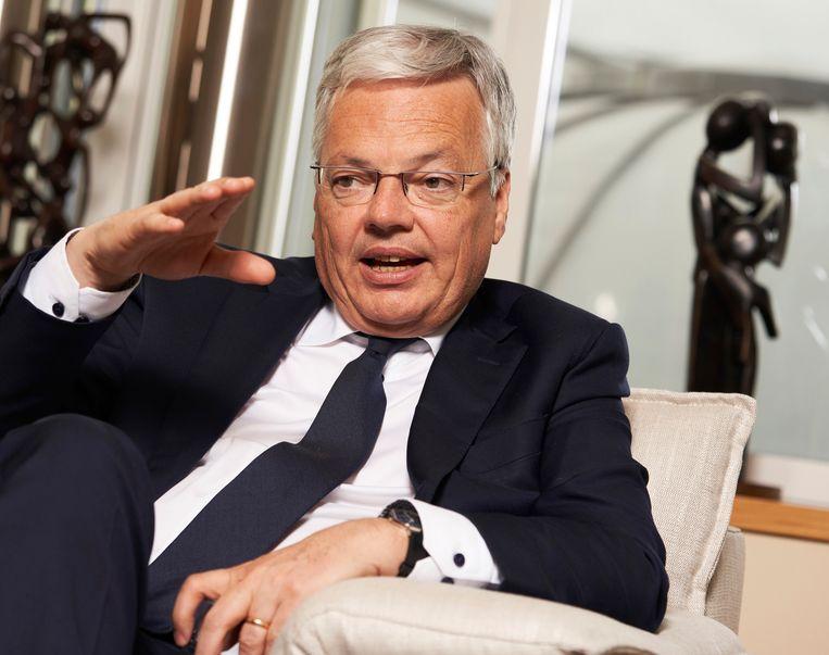 MR-vicepremier Didier Reynders