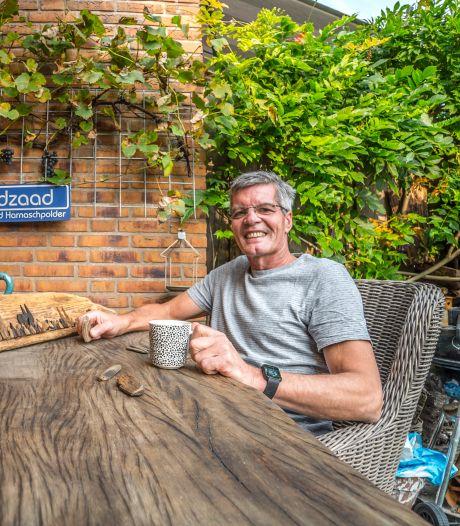 Ruud Landzaad tovert met stukjes wrakhout: Een oorlogswrak uit de Gouden Eeuw? Zou kunnen...'