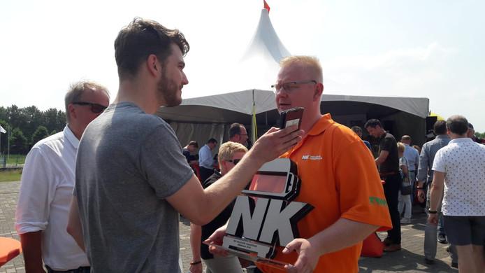 De winnaar van het NK Johannes Ritsma.