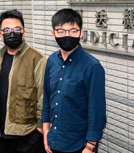 Activist Wong (24) veroordeeld tot celstraf voor protest Hongkong