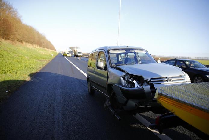 Ongeval A27 bij Raamsdonksveer.