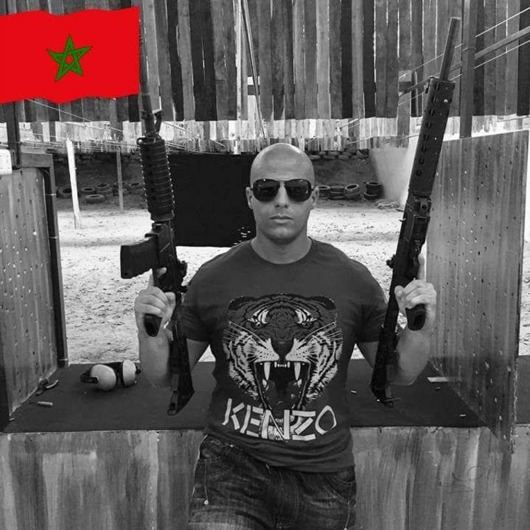 De profielfoto van rapper Benlabel op Facebook.