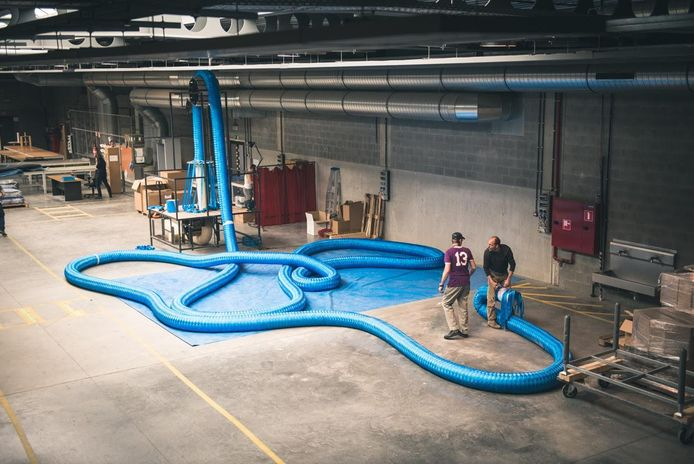 Het originele Rope werd vervaardigd in de ateliers van Leuven-Centraal.