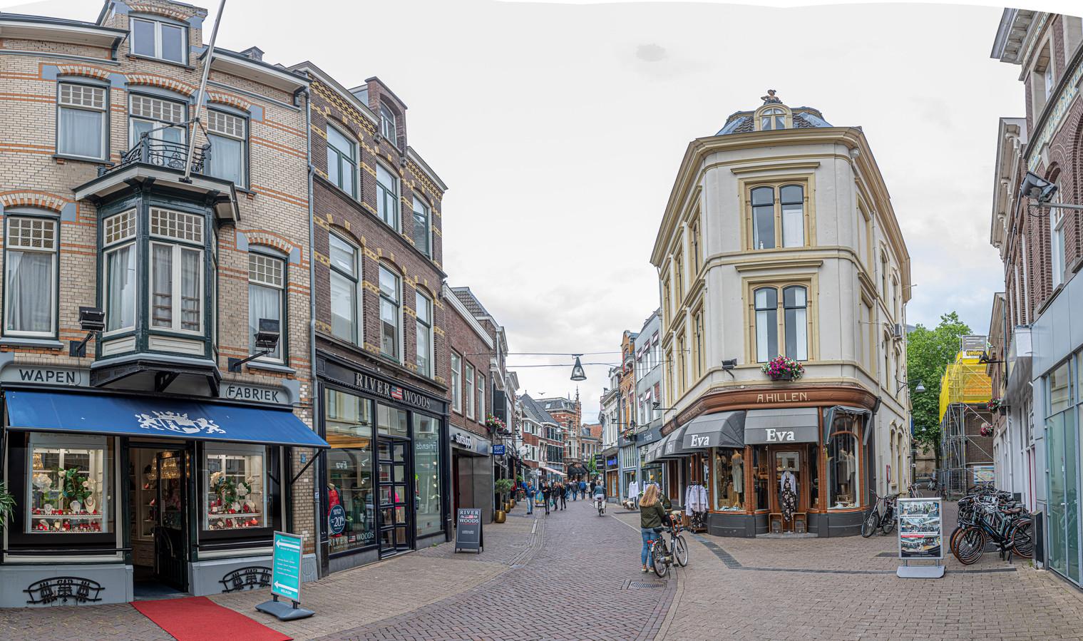 De Zwolse binnenstad.