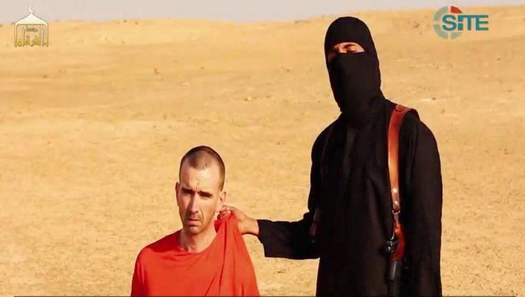 IS werd vooral bekend door video's van de onthoofdingen van verschillende westerlingen. Beeld EPA