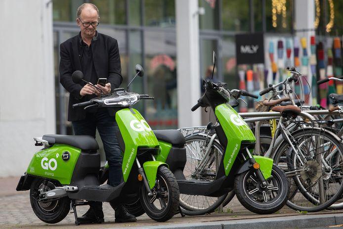 De Go Sharing-scooters