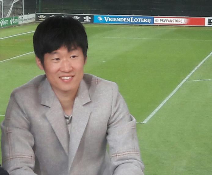 Ji-Sung Park was deze week op bezoek bij PSV.