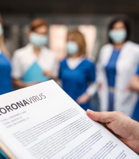5 nieuwe coronazieken opgenomen in ziekenhuis
