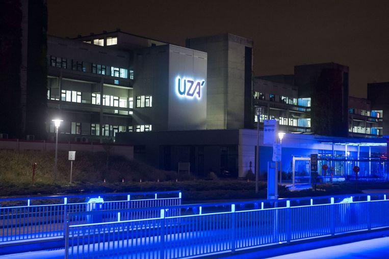 Universitair Ziekenhuis van Antwerpen. Beeld afp