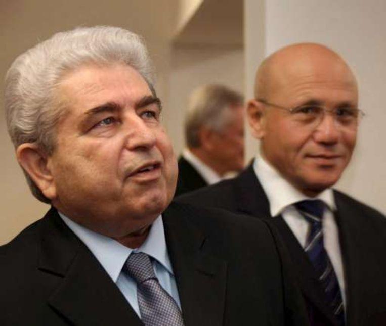 De Grieks-Cypriotische president, Dimitris Christofias, en zijn Turks-Cypriotische ambtgenoot Mehmet Ali Talat hadden een gesprek van 3,5 uur