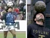 Soufiane Touzani doet de trucs van Diego Maradona na