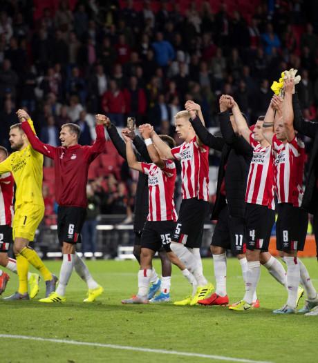 Eredivisie zet polonaise dankzij PSV toch nog voort en staat steviger op plek 9 op UEFA-lijst