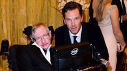 """Benedict Cumberbatch was destijds de eerste om Stephen Hawking te spelen op het grote scherm: """"Ik zal onze Margarita-avonden missen"""""""